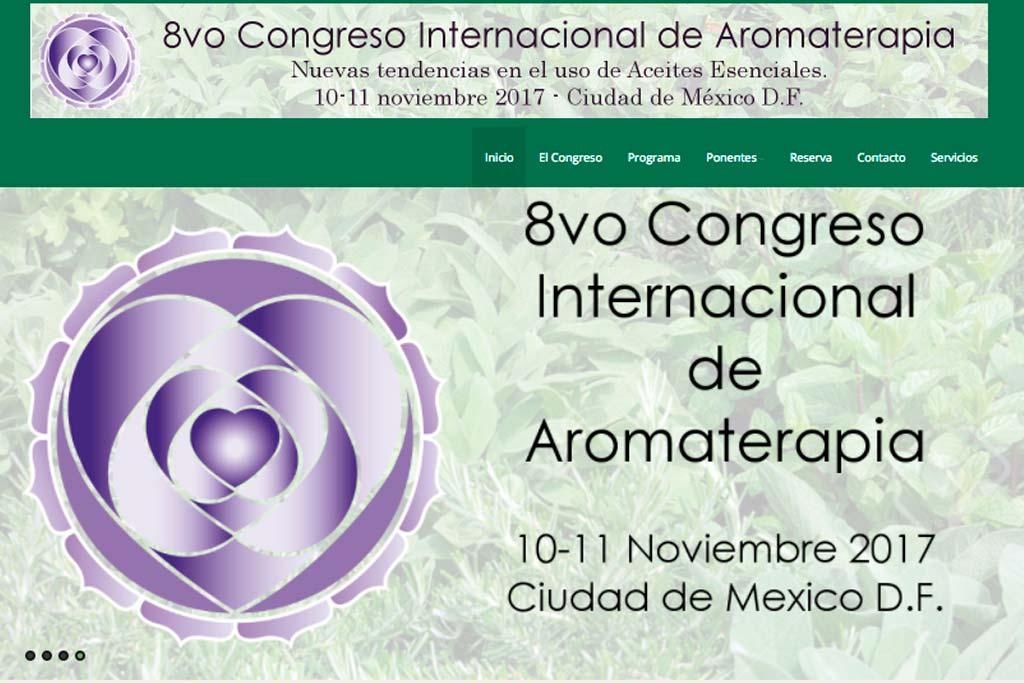 Congreso Aromaterapia Mexico