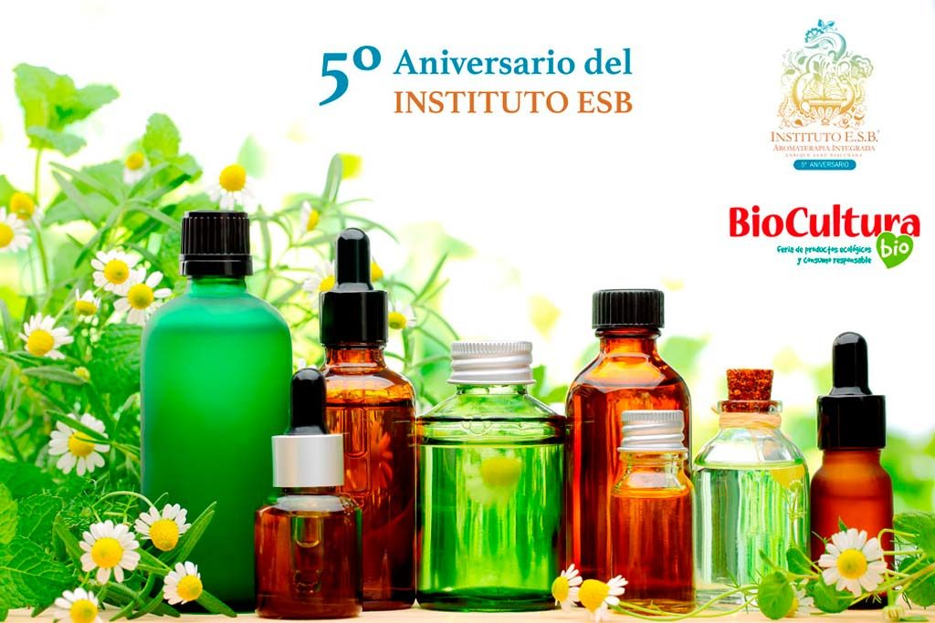Instituto ESB celebra su quinto aniversario en Biocultura Barcelona