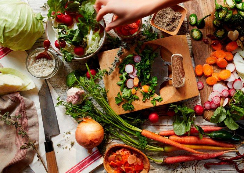 Taller de cocina vegetariana y vegana con aceites esenciales I