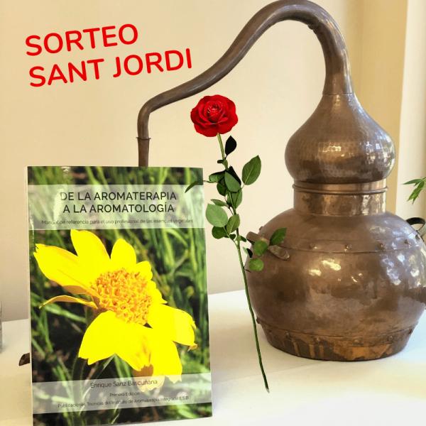 sorteo libro aromaterapia sant jordi