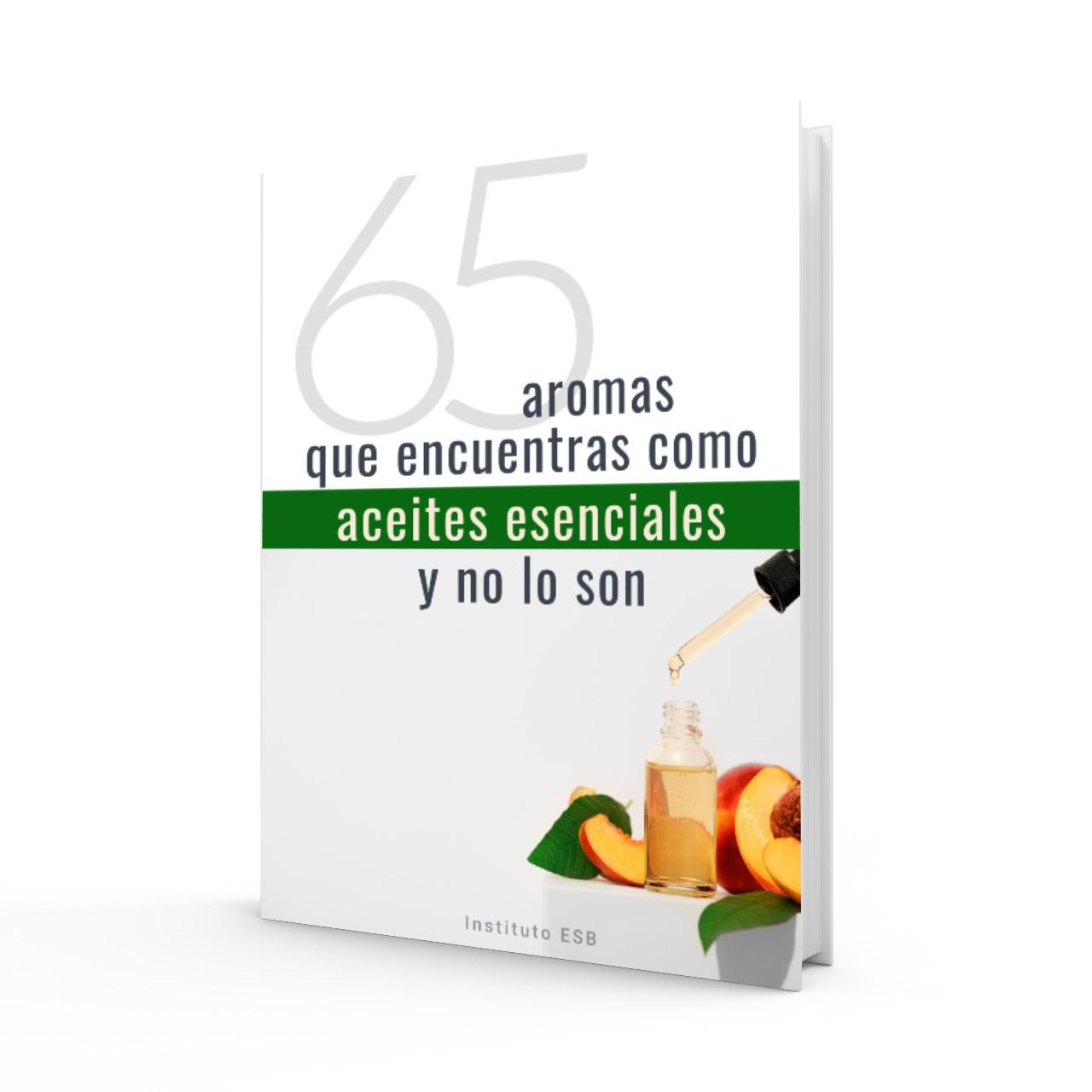 65 aromas que no son aceites esenciales